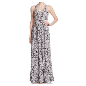 Michael Kors Palm Print Maxi Dress